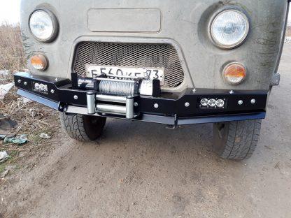 Бампер передн силовой УАЗ-452 РУБИКОН-1 без кенгурина4