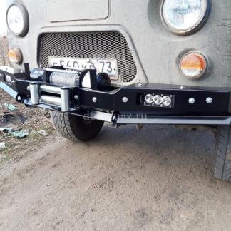 Бампер передн силовой УАЗ-452 РУБИКОН-1 без кенгурина5 ФОТО-4