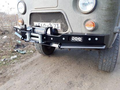 Бампер передн силовой УАЗ-452 РУБИКОН-1 без кенгурина5