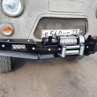 Бампер передн силовой УАЗ-452 РУБИКОН-1 без кенгурина7 ФОТО-7