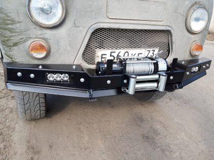 Бампер передн силовой УАЗ-452 РУБИКОН-1 без кенгурина7