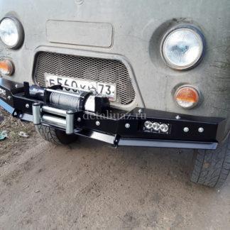 Бампер передн силовой УАЗ-452 РУБИКОН-1 без кенгурина6 ФОТО-6