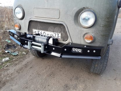 Бампер передн силовой УАЗ-452 РУБИКОН-1 без кенгурина6
