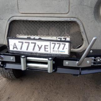 Бампер передн силовой УАЗ-452 РУБИКОН-1 без кенгурина8 ФОТО-10