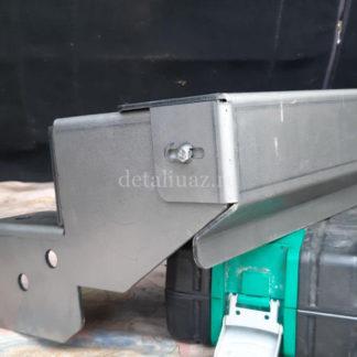 Усилитель (вкладыш) переднего бампера УАЗ Патриот2 ФОТО-2