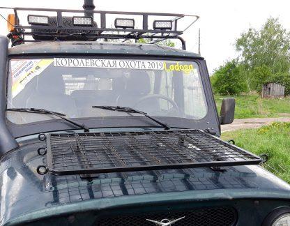 Багажник-площадка на капот УАЗ-469 Хантер