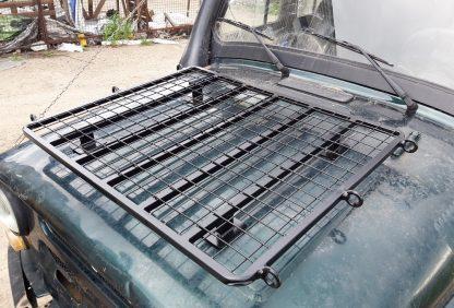 Багажник-площадка на капот УАЗ-469 Хантер2