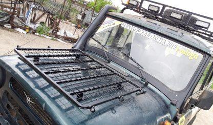 Багажник-площадка на капот УАЗ-469 Хантер3