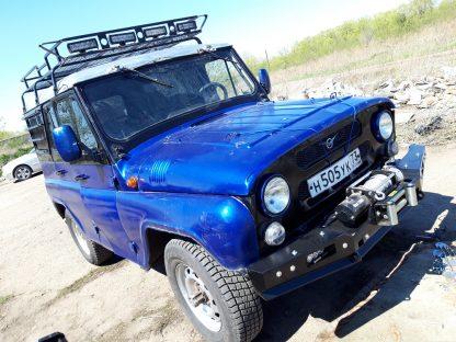 Бампер силовой передний 469 Хантер РУБИКОН-1 без кенгурина2