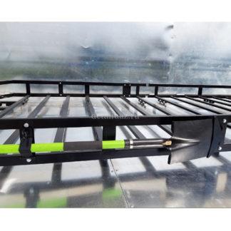 Фото 10 - Кронштейн-держатель лопаты универсальный съёмный на все виды багажников.