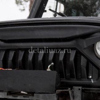 Облицовка радиатора УАЗ 469Хантер Злая-2.1 ФОТО-1