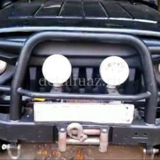 Облицовка радиатора УАЗ 469Хантер Злая-2.7 ФОТО-6