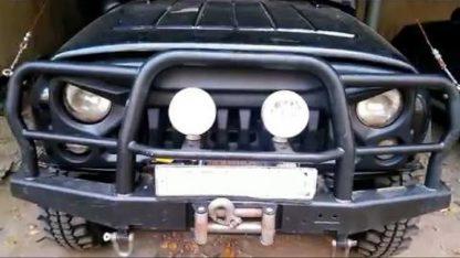 Облицовка радиатора УАЗ 469Хантер Злая-2.7