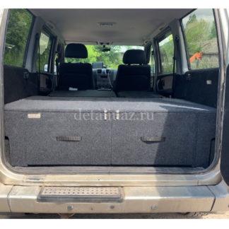 Фото 9 - Органайзер-спальник в багажник УАЗ-3163 (Патриот) «Комфорт-Р» (дорестайлинг).