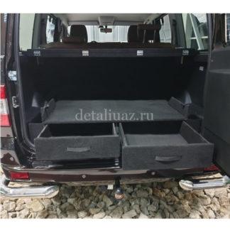 Фото 7 - Органайзер-спальник в багажник УАЗ-3163 (Патриот) «Комфорт» (рестайлинг).