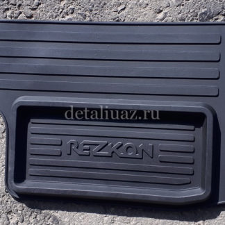 Коврики кабины пола УАЗ 452 «Rezkon» (3 шт)4 ФОТО-4