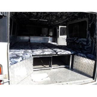 Фото 23 - Раздвижной диван в салон УАЗ 452.