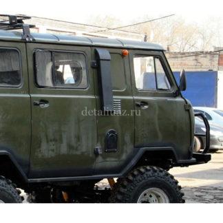 Фото 10 - Шноркель на УАЗ 452 Буханка с установочным комплектом (Telawei).