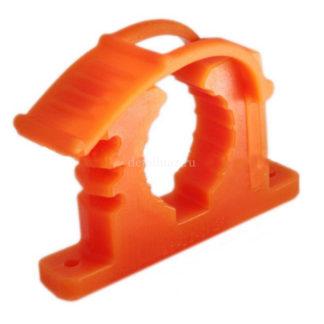 Фото 2 - Крепеж для лопаты оранжевый.