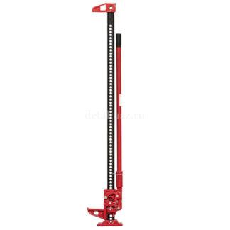 """Фото 24 - Домкрат реечный High Jack 60"""" (150 см) 3т, усиленный, красный HJ60/5075."""