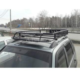 Фото 12 - Багажник на Шевроле Нива Вепрь (борта) с сеткой 50х50.