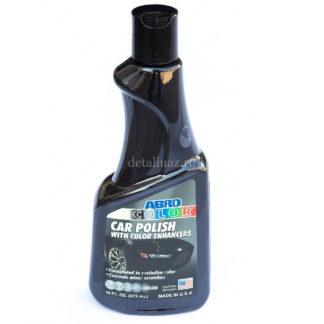 Фото 8 - Автополироль для кузова цветная (черная) (473мл) ABRO.