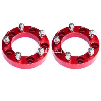 Фото 25 - Проставки колесные алюминиевые RedBTR 5х139,7 СВ 108мм, 31,75мм (1,25) УАЗ, Соболь 4х4.