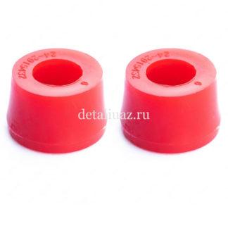 Фото 17 - Втулка амортизатора УАЗ 452469 (полиуретан)4шт RedBTR (451-2905432).