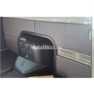 Фото 16 - Обивка перегородки салона мягкая УАЗ 3741, Буханка на ДВП (нижняя часть).