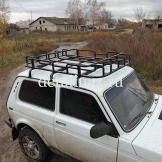 """Фото 9 - Багажник на Нива ВАЗ-2121 """"ОХОТНИК"""" 3-х дверную."""
