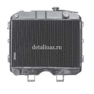 Фото 10 - Радиатор водяного охлаждения 3-х рядный МЕДНЫЙ (ШААЗ).